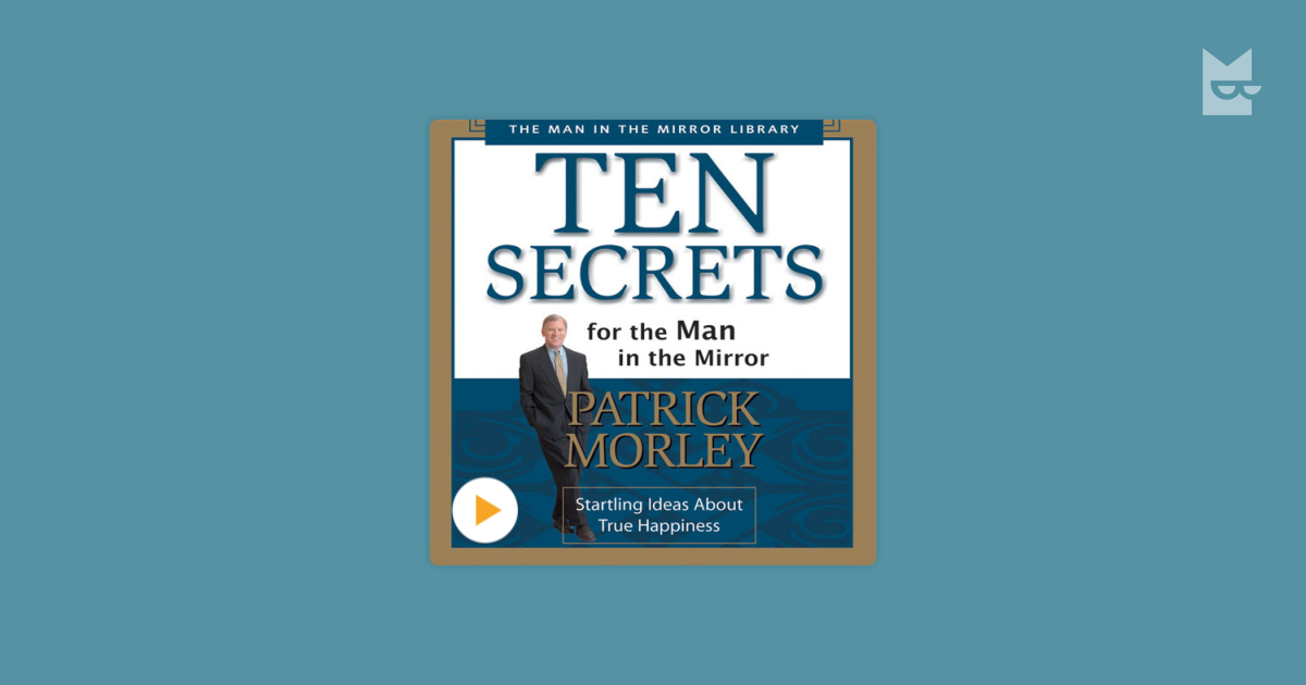 the man in the mirror patrick morley 9780310222897