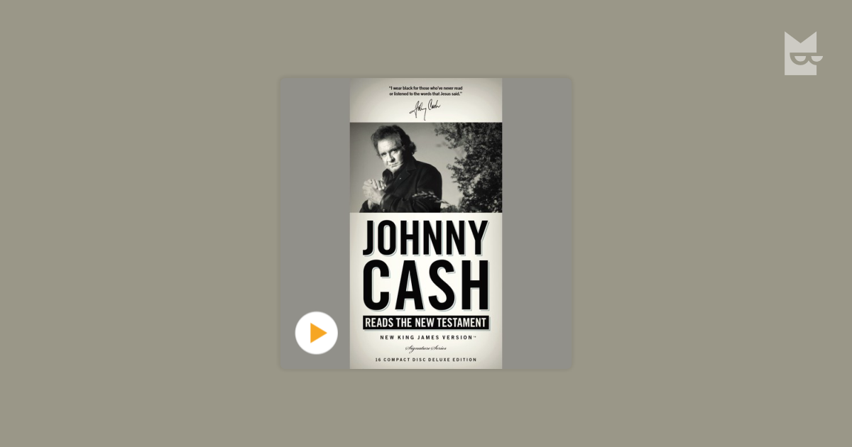"""Listen to the audiobook """"Johnny Cash Reading the New"""