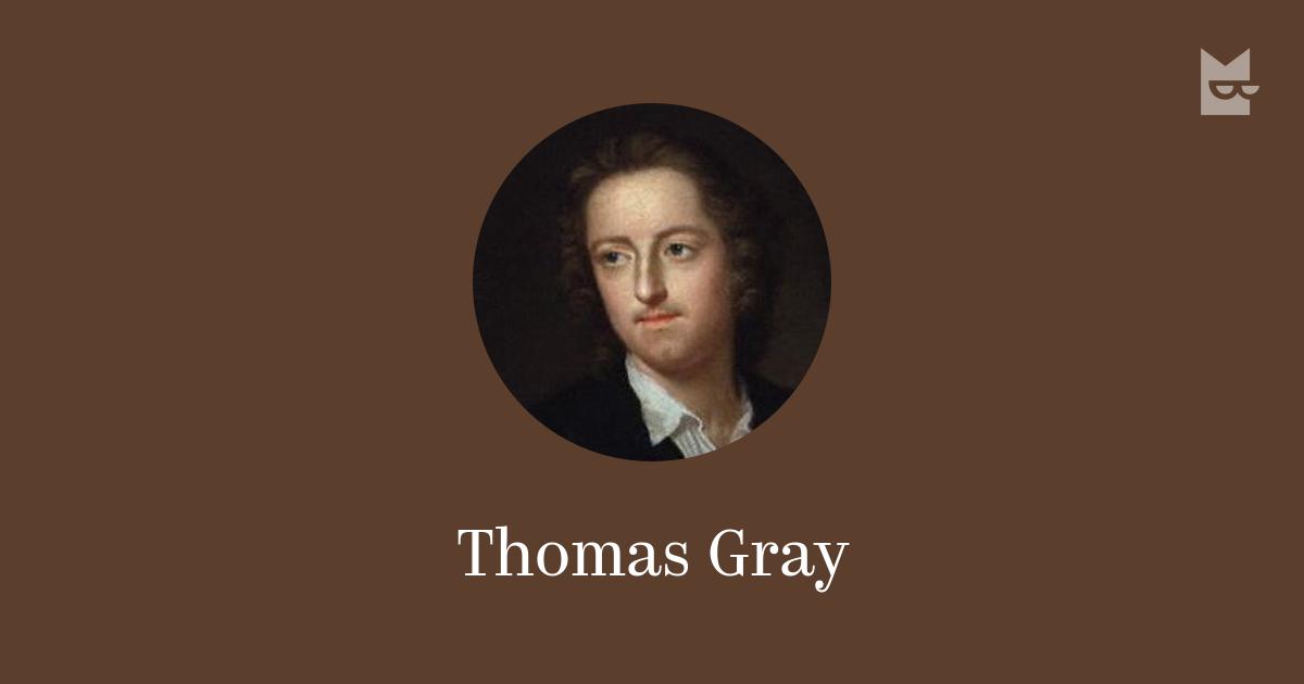 short biography thomas gray