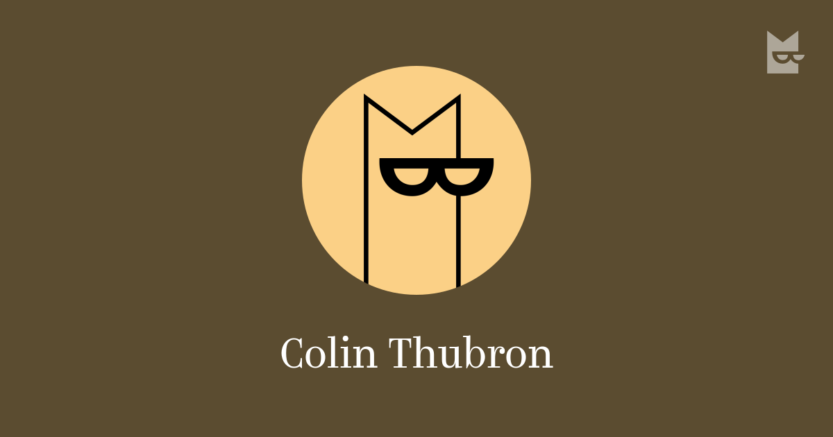 Colin Thubron Read The Authors Books Online Bookmate
