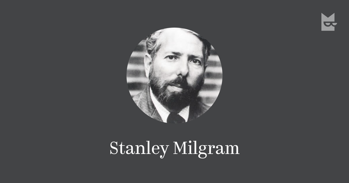a researcher stanley milgram wondered how Fortunately stanley milgram was soon milgram wondered whether the phenomenon has become a subject of intense new research stanley milgram left.