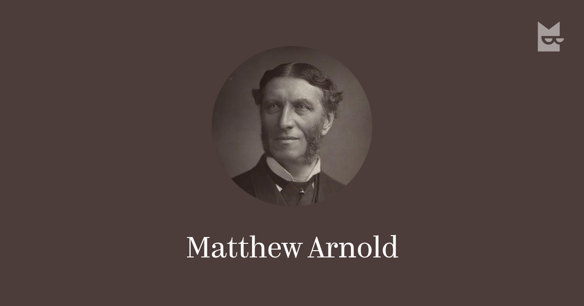 an imitative narrative in mathew arnold's Arnold caught the public mood with this high-minded but entertaining critique of victorian society, posing questions about the art of civilised living that still perplex us today.