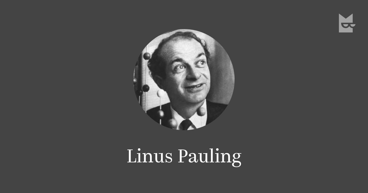 linus pauling essay The linus pauling institute still exists, but moved in 1996 from palo alto, california, to corvallis, oregon, where it is part of the linus pauling science center at oregon state university the valley library special collections at oregon state university contain the ava helen and linus pauling papers, including digitized versions of pauling's forty-six research notebooks.