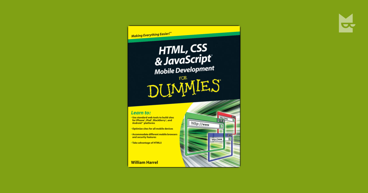 html css javascript for dummies pdf