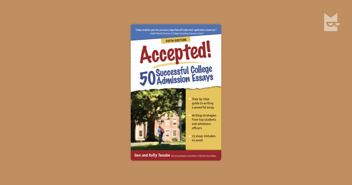50 successful college admission essays Search the history of over 310 billion web pages on the internet.
