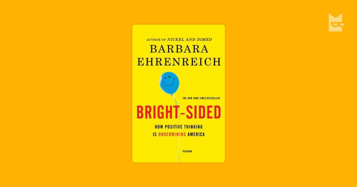barbara ehrenreich bright sided essay