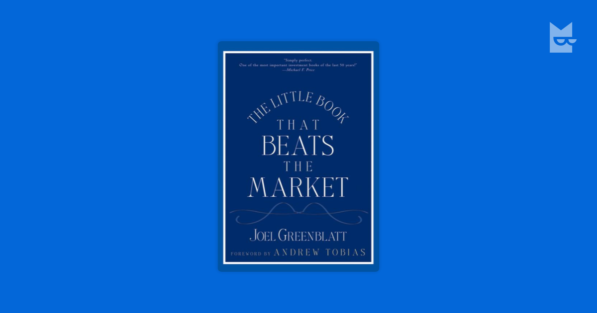 the little book that still beats To purchase the book on amazoncom click on the following link-the little book that still beats the market (little books big profits) big profits) disclosure: i receive free books from book publishers and authors asking me to review them.