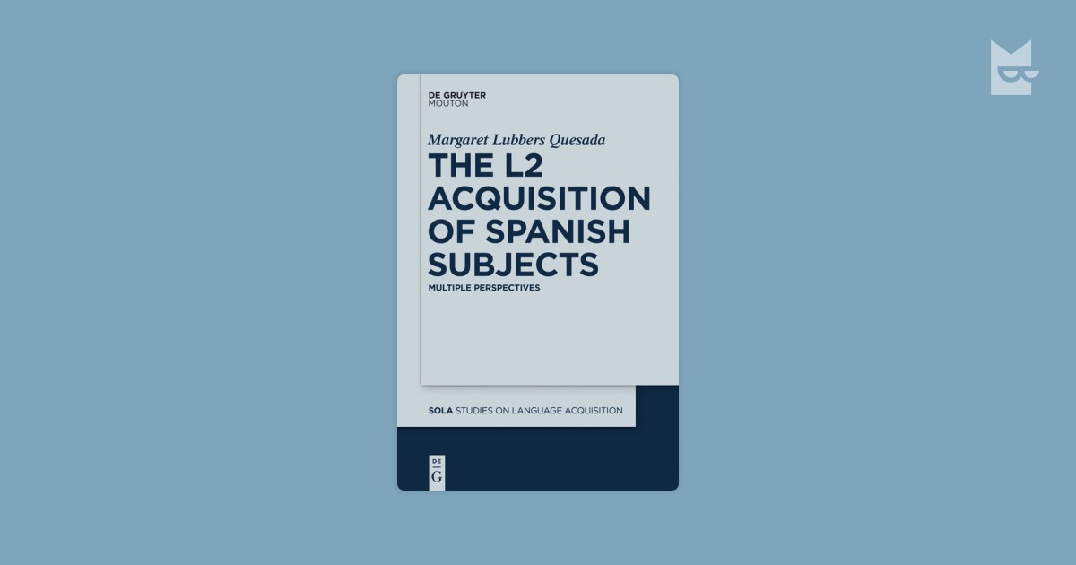 l2 acquisition Child l1, child l2 and adult l2 acquisition: differences and similarities sharon unsworth utrecht institute of linguistics (uil-ots) adult l2 acquisition is.