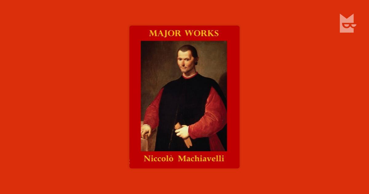 a description of machiavelli as an italian historian