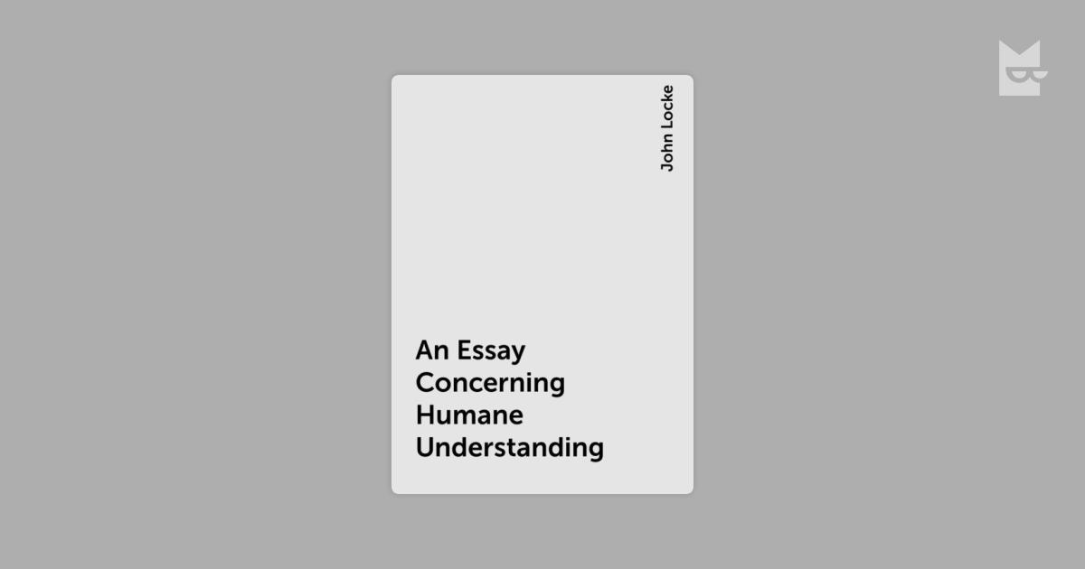 john locke essay concerning human understanding book 3