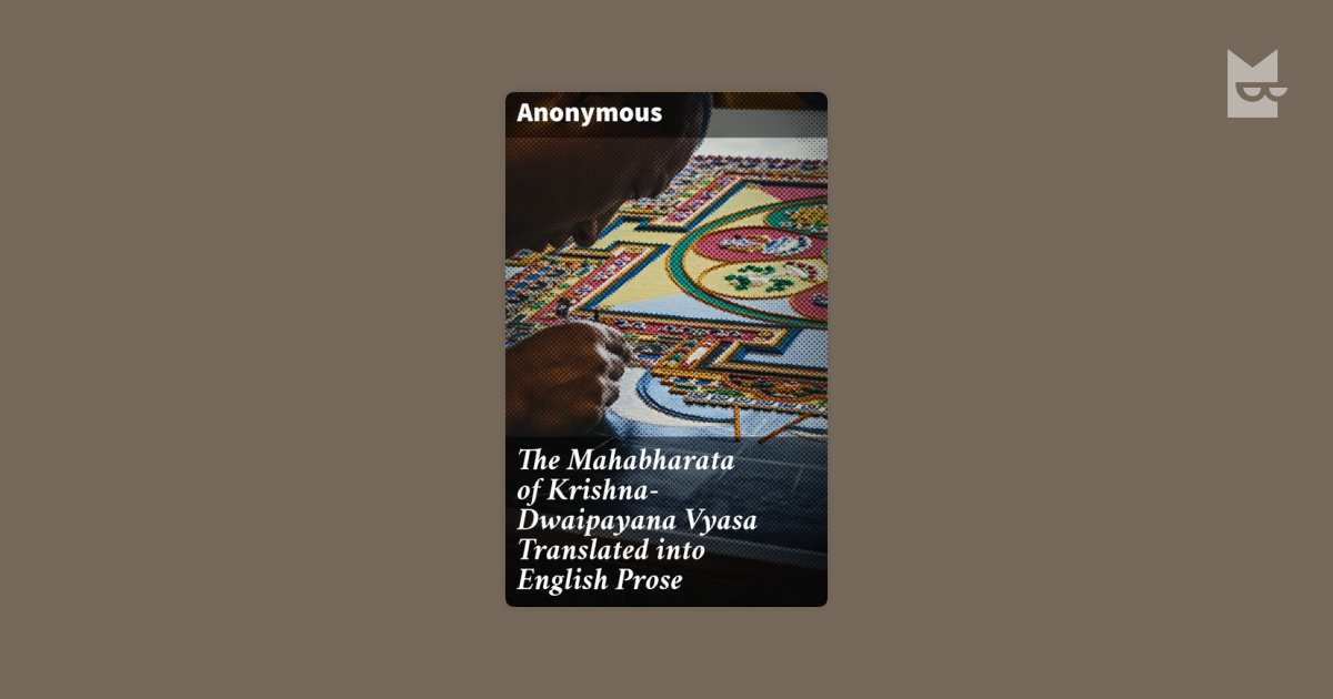 an examination of the religious text the mahabharata by vyasa Index of the mahabharata of krishna-dwaipayana vyasa bk 3 pt 2 previous part (3) next part (5) download this document as a pdf file size: 10 mb what's this many people prefer to read off-line or to print out text and read from the real printed page others want to carry documents around with them on their mobile phones and read while they.