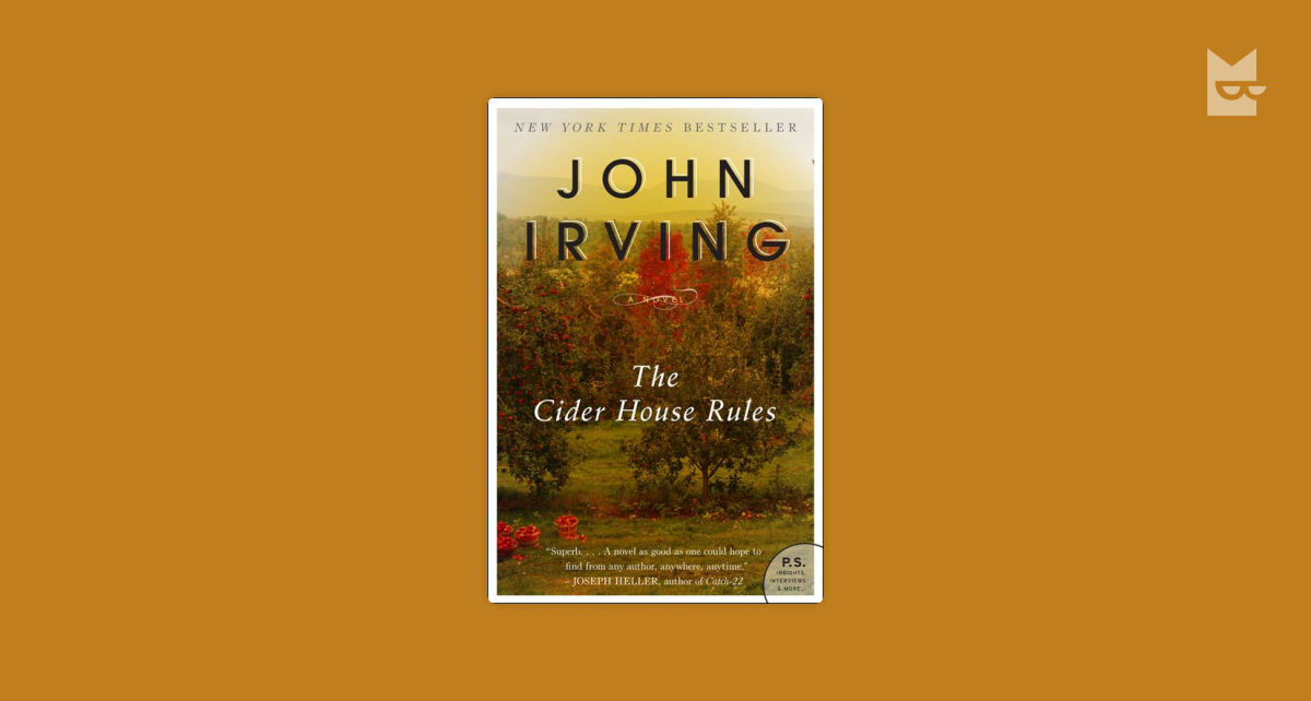 book report cider house rules Listen to cider house rules audiobook by john irving stream and download  summary: john irving's best novel    he is among the very best storytellers.
