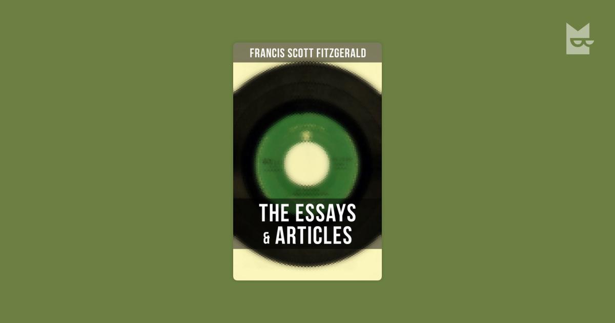 francis scott fitzgerald essay