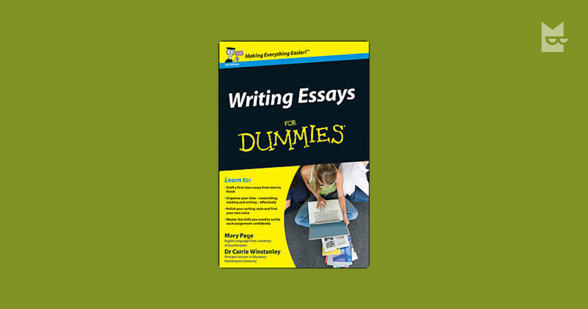 essay writing for dunnies