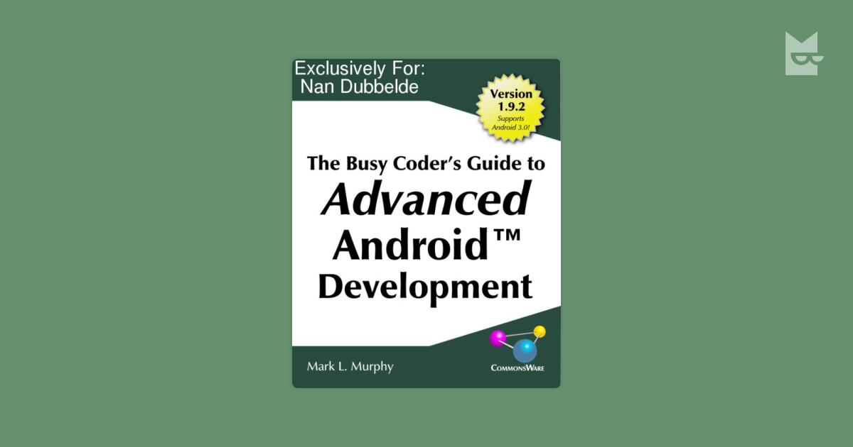 Busy Coders Guide To Android Development Pdf Vinny Oleo Vegetal Info