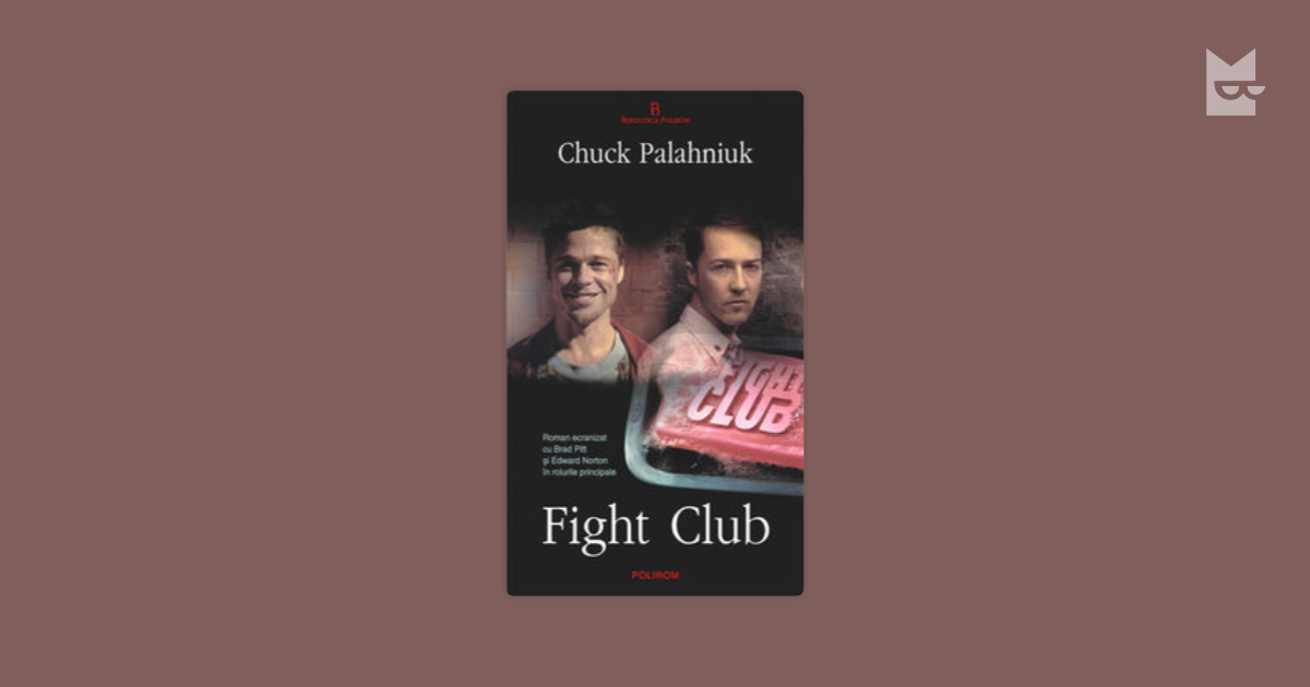 a report on the film fight club by chuck palahniuk and david fincher Reading in-between the lines: an analysis of fight club a novel by chuck palahniuk a film directed by david fincher this book/movie report reading in-between the.