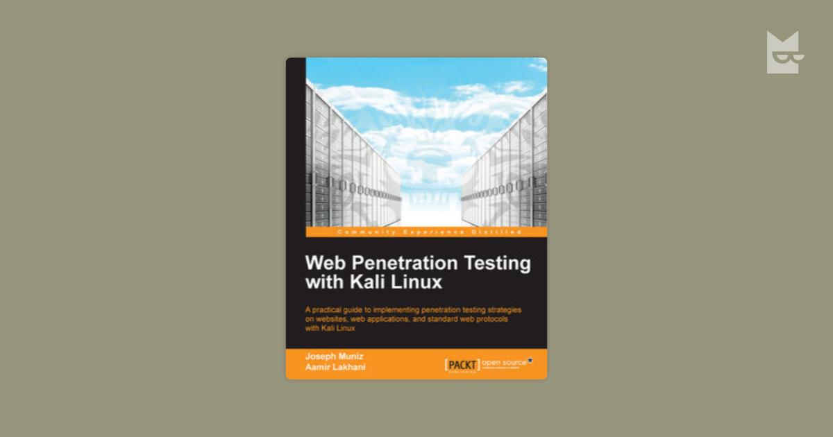 Web Penetration Testing With Kali Linux By Joseph Muniz Aamir