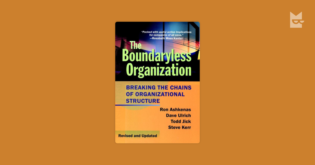 boundaryless organisation essay Boundaryless careers are based not only on success within an organisation but also on success within other contexts, such as, occupational or cultural contexts (arthur, et al, 2005) career success may also be judged by peer groups internal or external to the individual's present organisation.