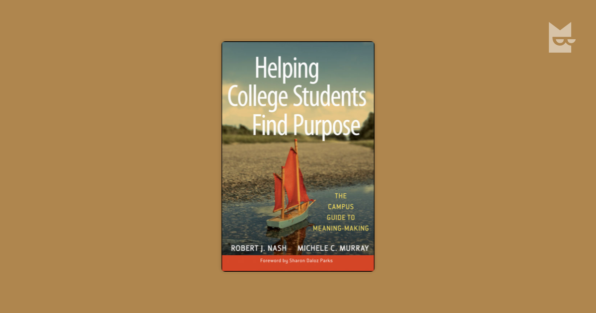 helping students find a purpose for