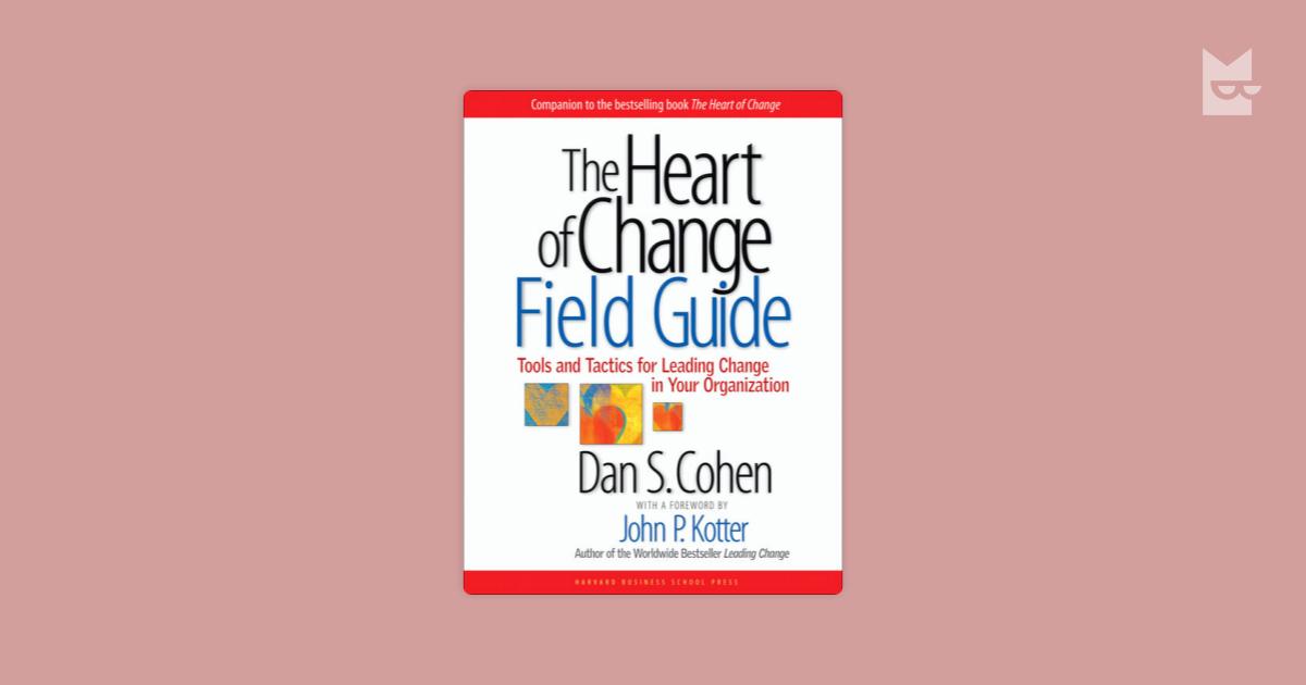 kotter and cohen s model of change