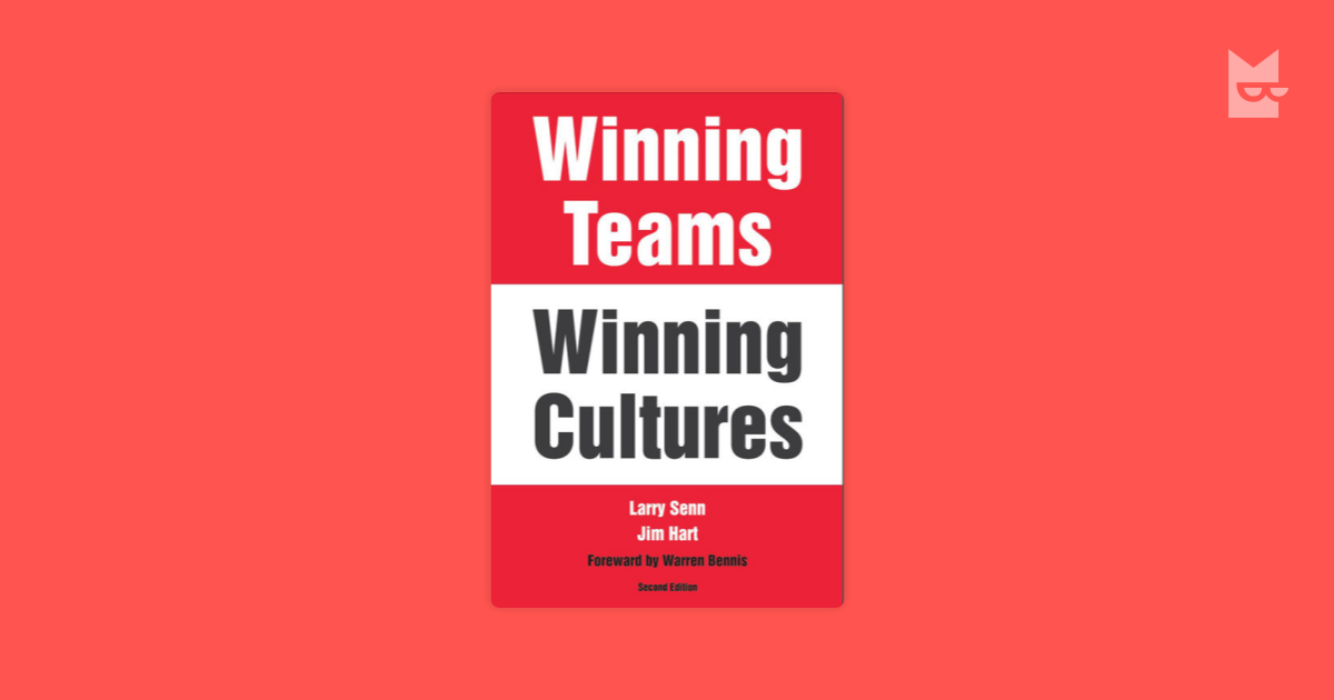 winning teams and winning cultures book report How to build and sustain a championship culture and the usa men's basketball team all have built winning jeff's extraordinary book reveals the critical.