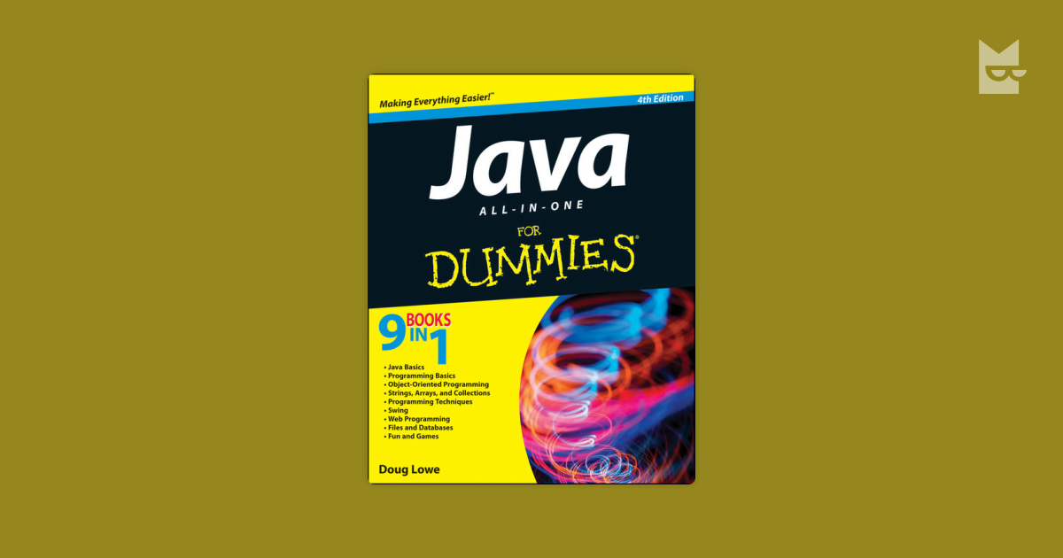 java all in one for dummies pdf