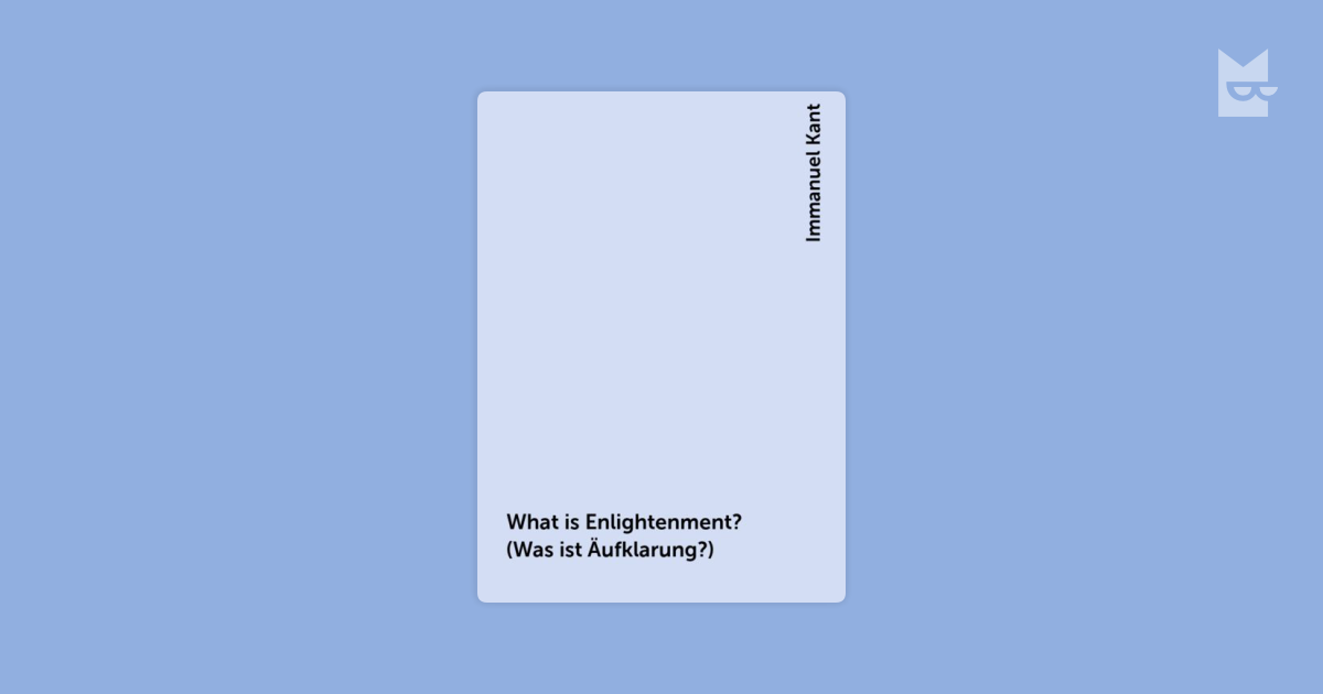 an analysis of what is enlightenment by kant philosophy essay In his essay kant discusses the reasons for the absence of enlightenment and what is required from people for enlightenment to flourish kant defines enlightenment that a person achieves when he frees himself from immaturity that he caused himself.