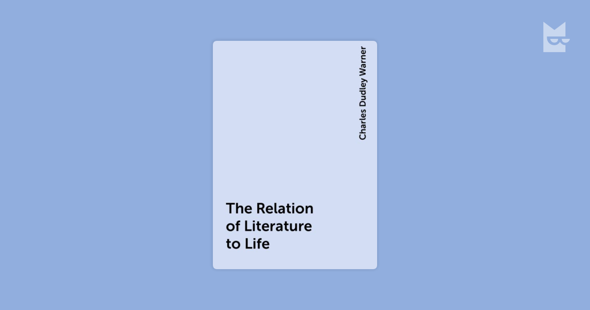 relationship of literature and life