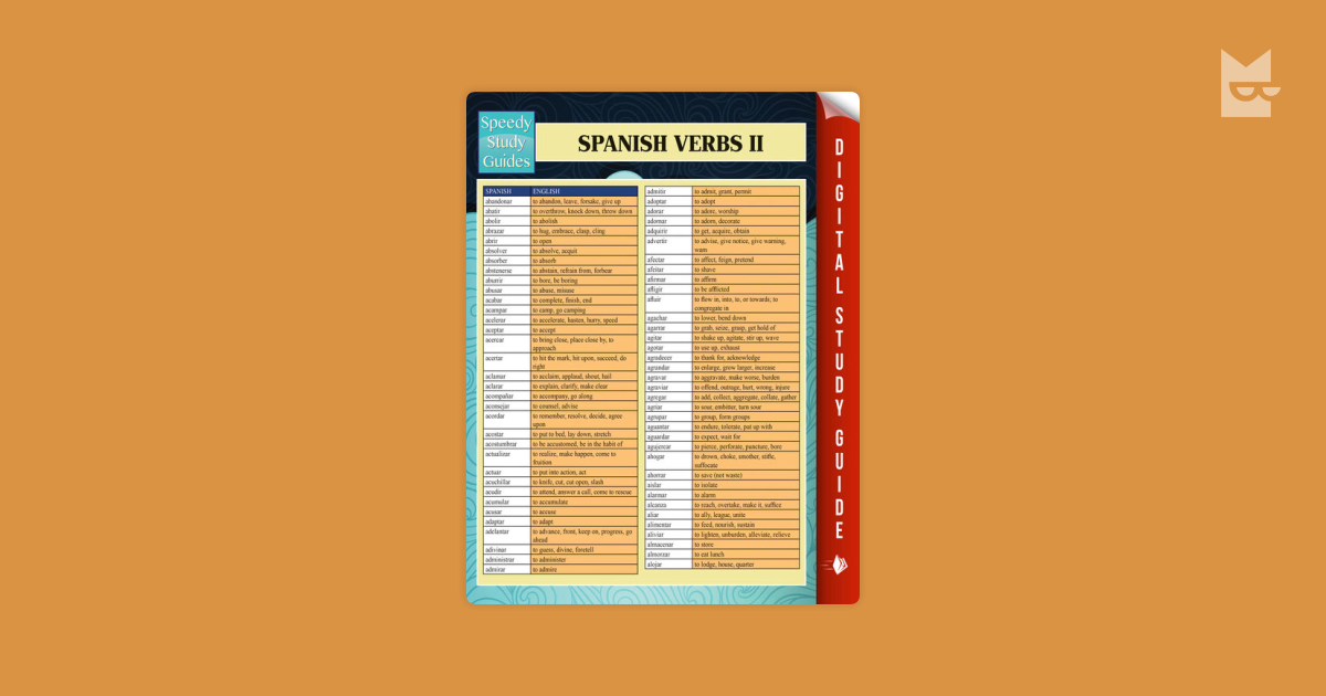 spanish ii study guide The praxis study companion 2 guide can help keep you on track and make the most efficient use of your study time test name spanish: world language.