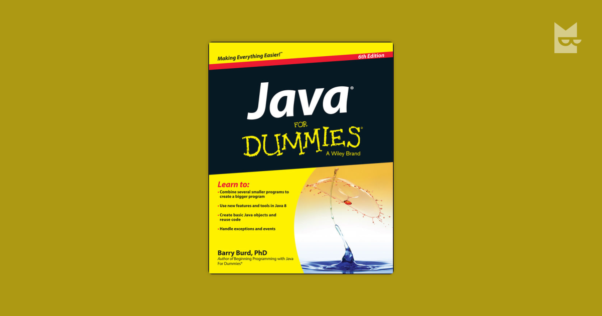 Java For Dummies By Barry Burd Bookmate
