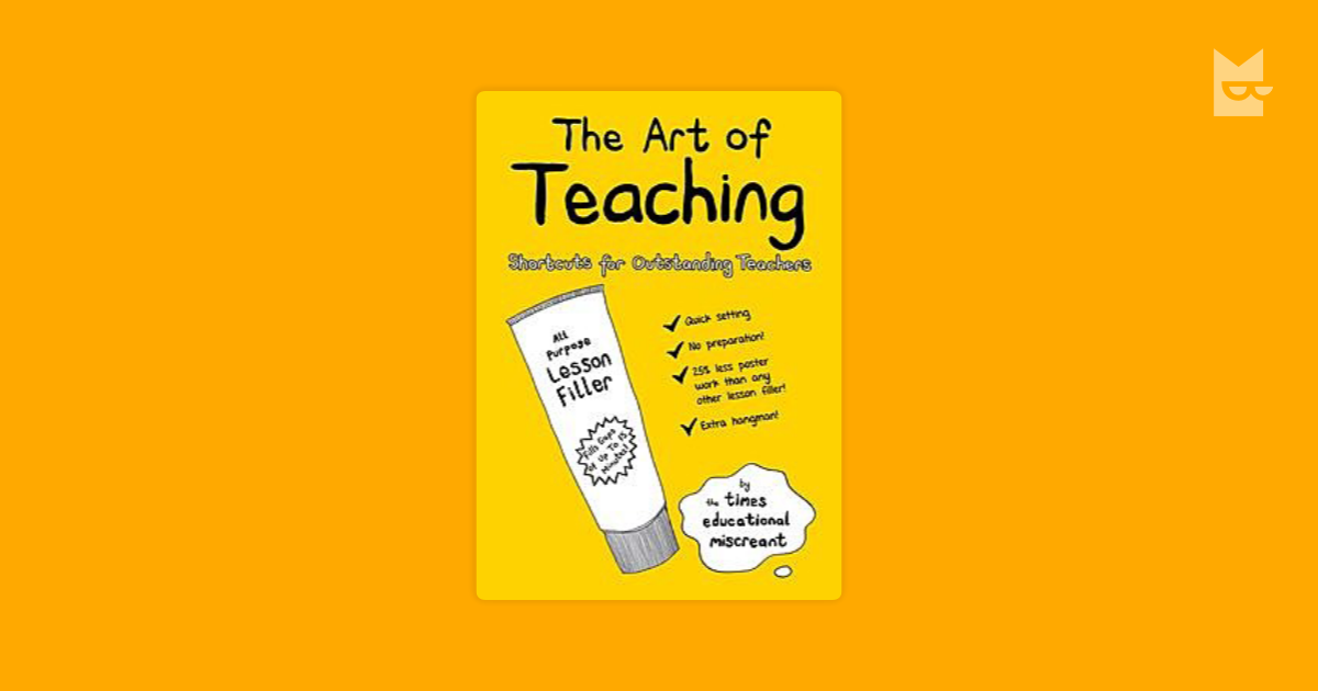 the art of teaching writing In the art of teaching reading including the best-selling sister volume, the art of teaching writing (heinemann), raising lifelong learners.