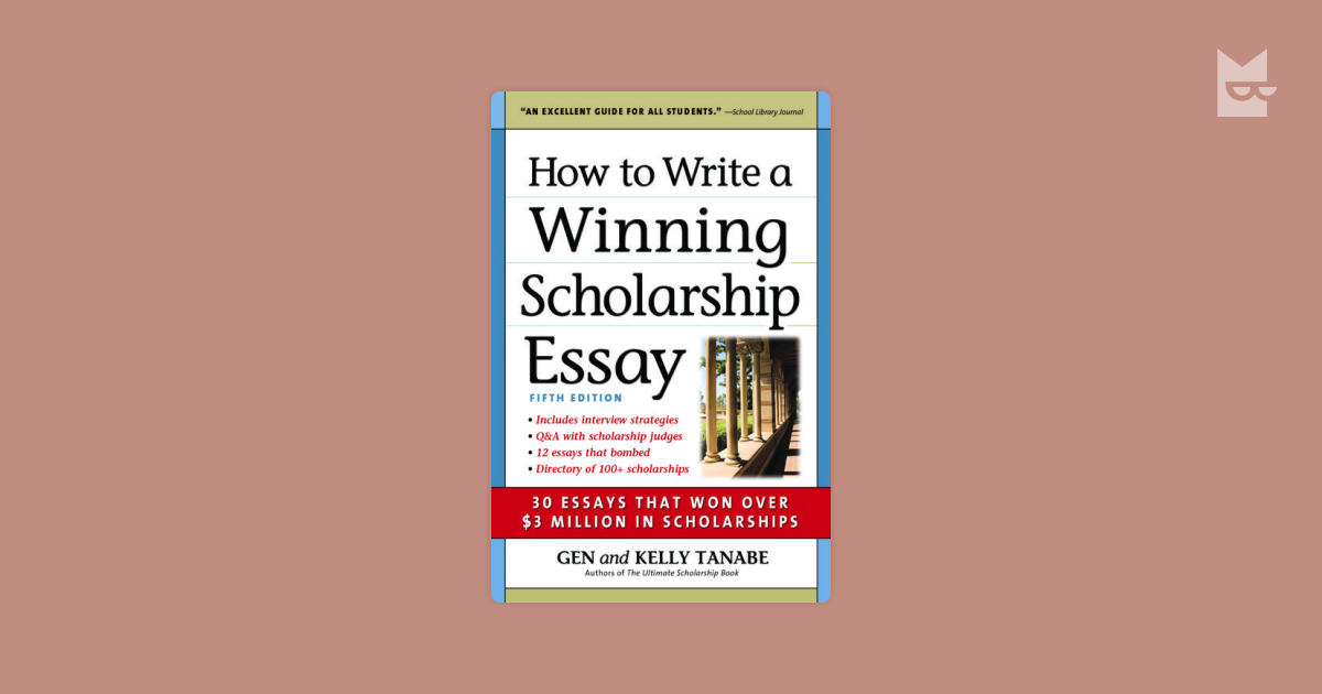 how to write winning scholarship essays Kristina ellis, author of 'confessions of a scholarship winner,' explains how to write an essay in support of a scholarship application.