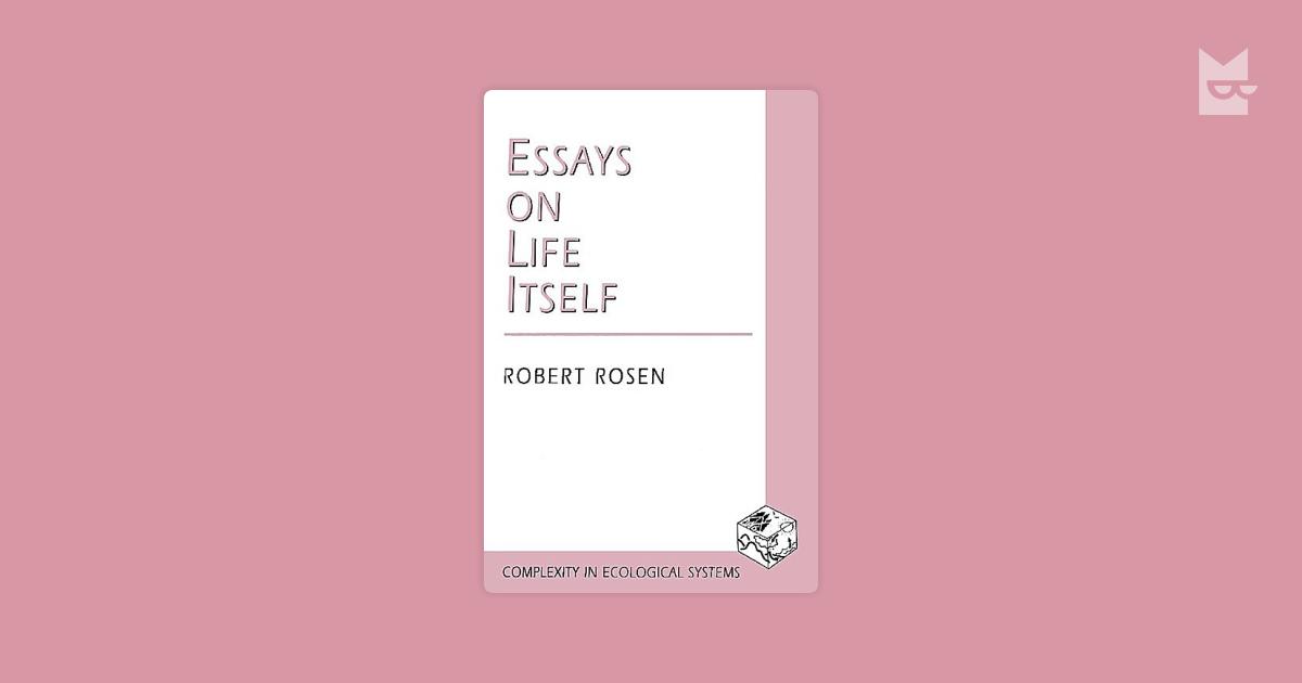 essay itself life