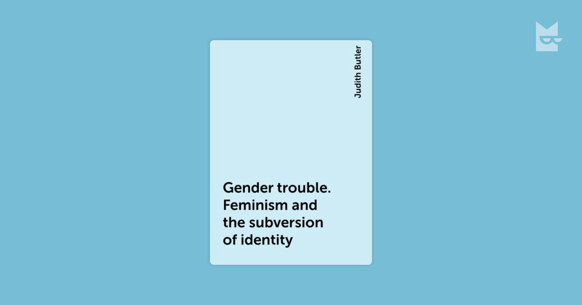 """judith butler an essay in phenomenology and feminist theory In """"performative acts and gender constitution: an essay in phenomenology and feminist theory"""" judith butler follows up on her thought in publications."""
