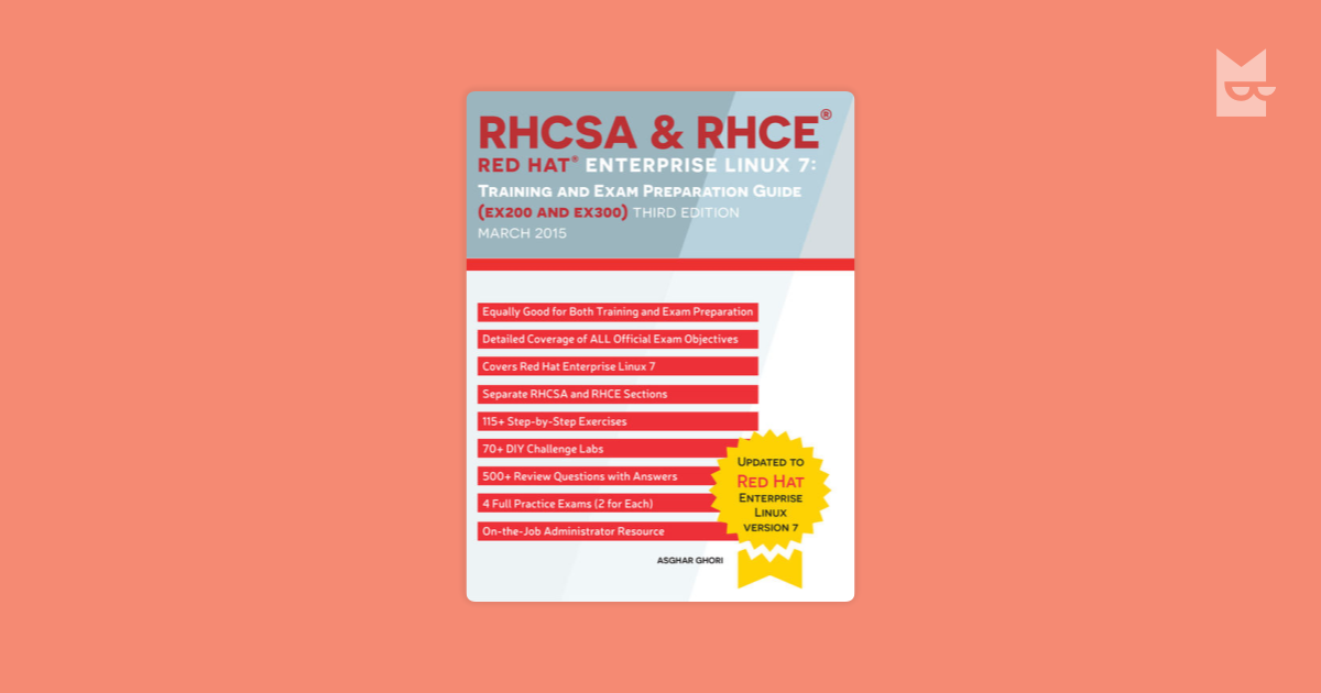 RHCSA & RHCE Red Hat Enterprise Linux 7 Training and Exam