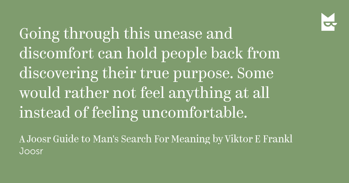 an examination of a mans search for meaning by viktor frankl During the holocaust in the 1940's, viktor frankl spent 3 years as a prisoner in the auschwitz and dachau concentration camps his wife, father, mother, and brother died in these camps.